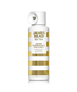 James read : INSTANT BRONZING MIST FACE BODY