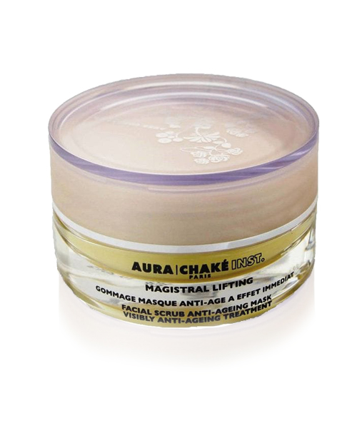 AURA CHAKE : Magistral Lifting Gommage Masque Anti-age a effet immediat / Facial scrub anti-ageing mask with visible effects  : Антивозрастная лифтинг маска-гоммаж «Мажистраль» для лица
