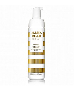 James read : EXPRESS BRONZING MOUSSE FACE BODY