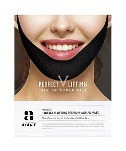 Avajar : perfect V lifting premium woman black mask