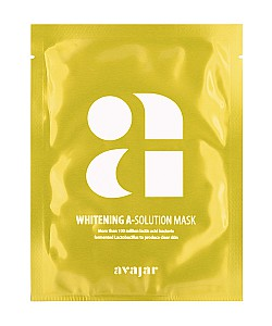 Avajar : Whitening A-Solution Mask